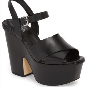 Micheal Kors NEW Divia Demi wedges